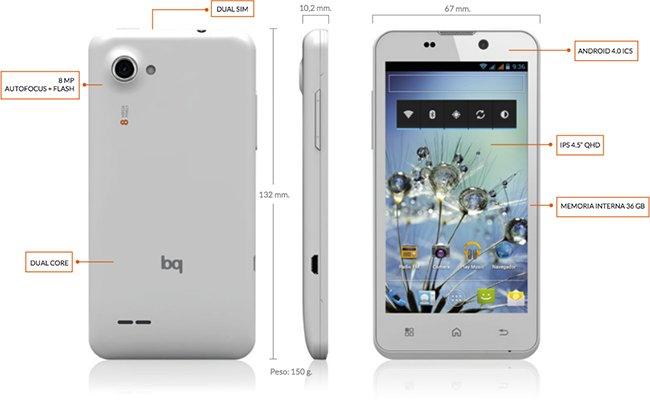 BQ y los seis nuevos modelos de móvil con sabor español