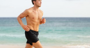 man-running-on-beach