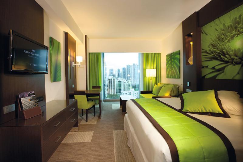 Hotel Riu Plaza Panamá habitación