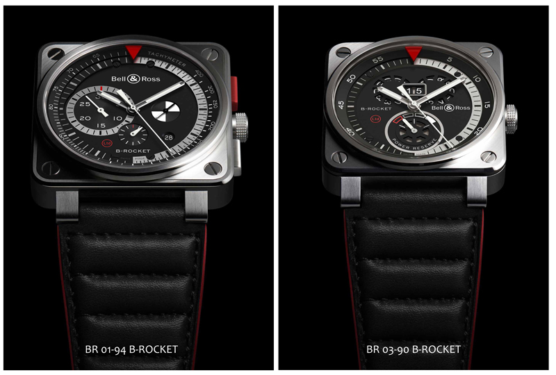 Relojes BR 01 Y BR 03 B-ROCKET
