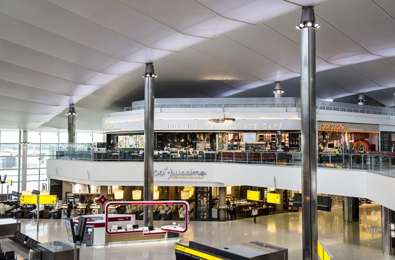 THE PERFECTIONISTS´CAFÉ  en aeropuerto de Heathrow