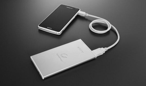 Bateria portátil Sony