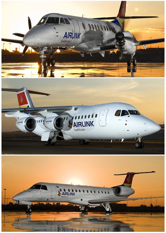 Embraer 135, Avro RJ85 y Jetstream 4100