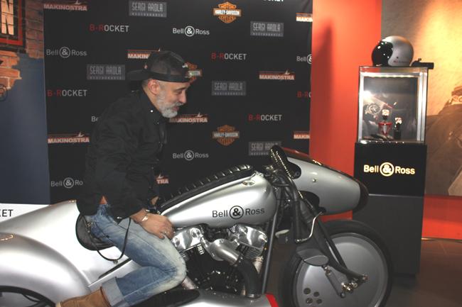 Sergi Arola en presentación B-Rocket