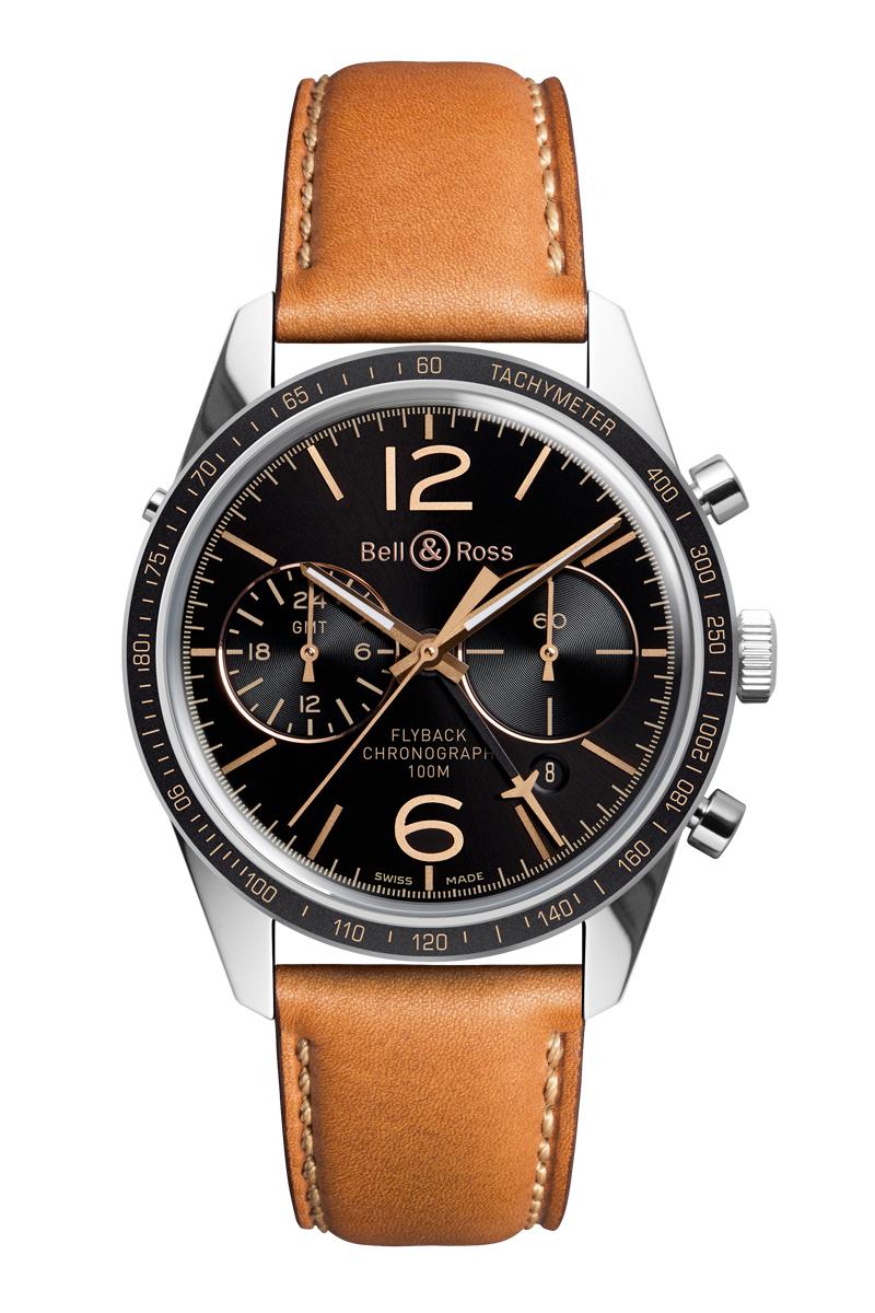 Vintage BR 126 SPORT HERITAGE GMT & FLYBACK