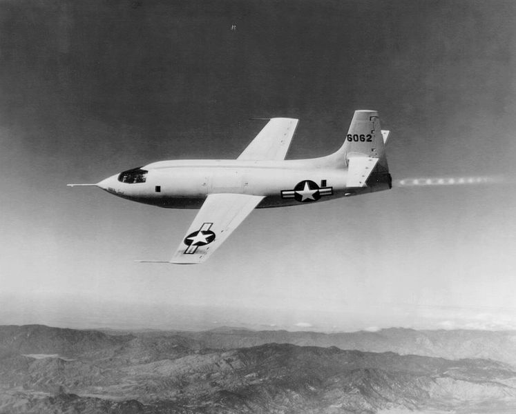 avión Bell X-1