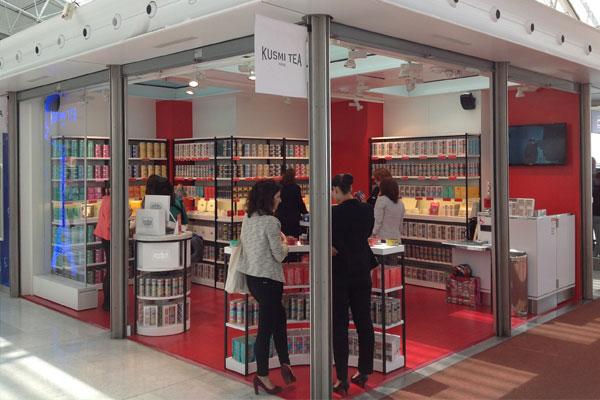 restaurante LADURÉE en terminal 2F de ParisCharles de Gaulle