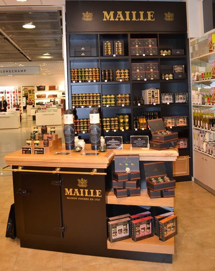 maille en aeropuerto Charles de Gaulle