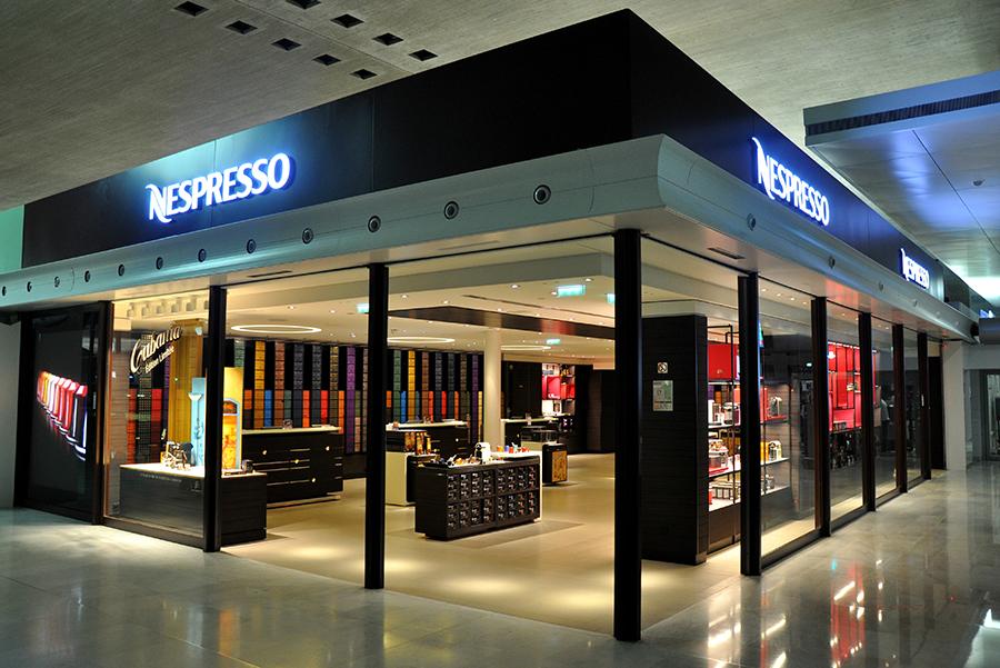 Charles de gaulle cdg un aeropuerto muy gourmet for Nespresso firma