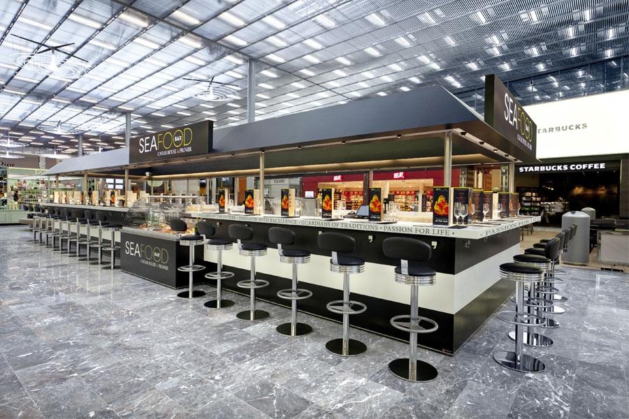 Caviar House & Prunier Seafood Bar  aeropuerto Charles de Gaulle