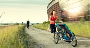 carrito de niños para correr