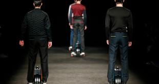 El pasado y el futuro juegan en la colección masculina de Miquel Suay