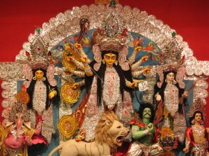 A-Lion-Of-Maa-Durga