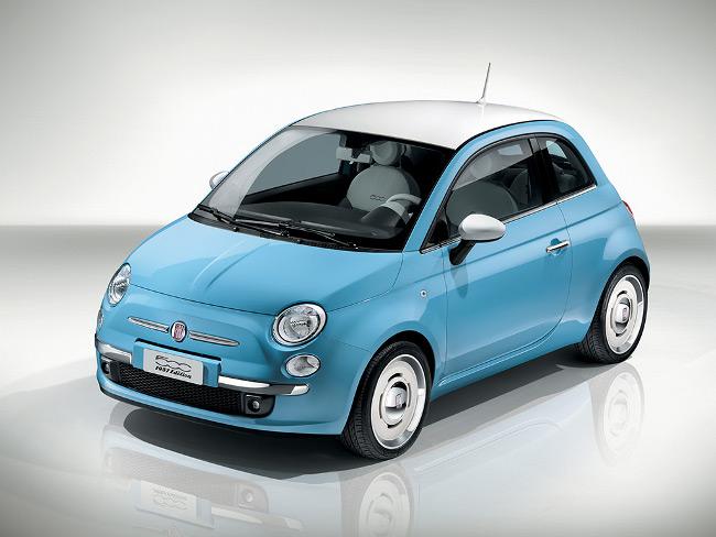 Inspiración retro para un coche moderno. FIAT.