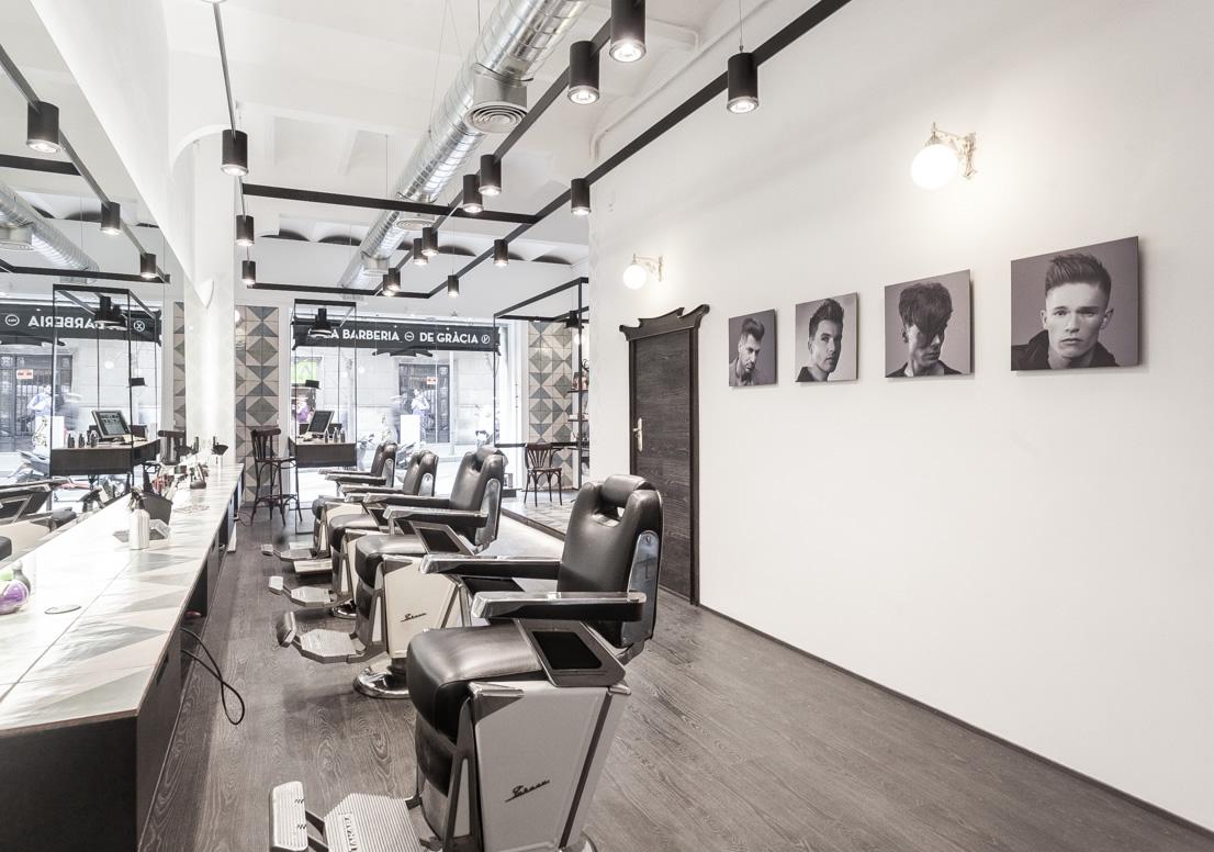 Las barber as m s molonas de espa a y algunas del - Interiores de peluquerias ...