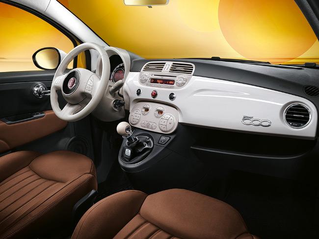 Detalle del interior. FIAT.