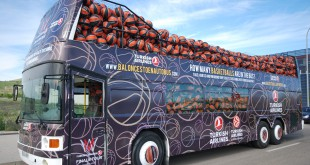 Basketballs in the Bus
