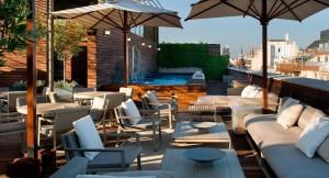 Terraza penthouse