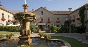 El hotel A Quinta Da Auga, una antigua fábrica de papel.