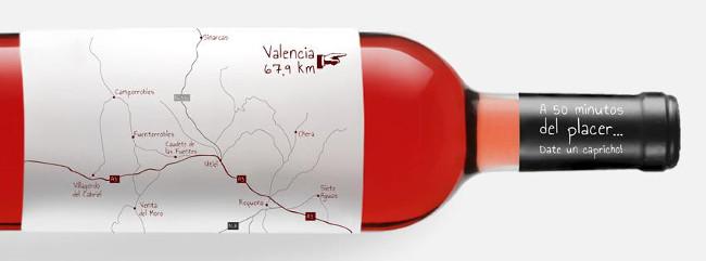 Imagen de los viñedos. Foto de la página de Facebook de la Ruta del Vino Utiel-Requena.