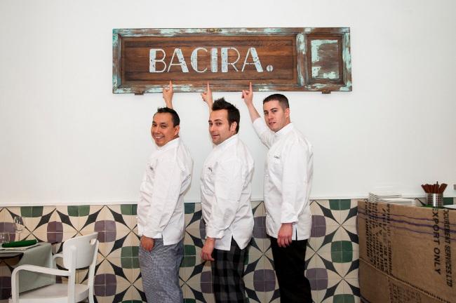Gabriel Zapata, Vicente de la Red y Carlos Langreo, equipo de BACIRA