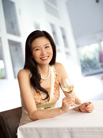 Jeannie Cho Lee para Singapore Airlines