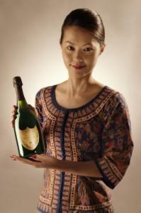 Servicio de vinos en Singapore Airlines