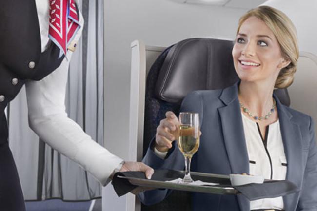 American Airlines también apuesta por los vinos a bordo.