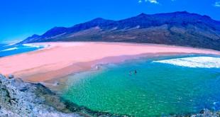 Playa de Cofete (foto de la web de turismo de Fuerteventura)