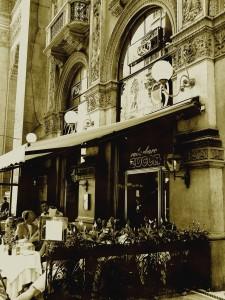 Milán: Zucca in Galleria