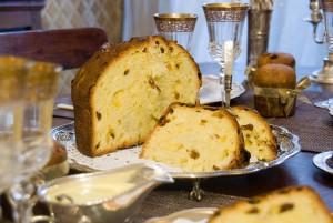 Milán: panetone de pastelería Cova
