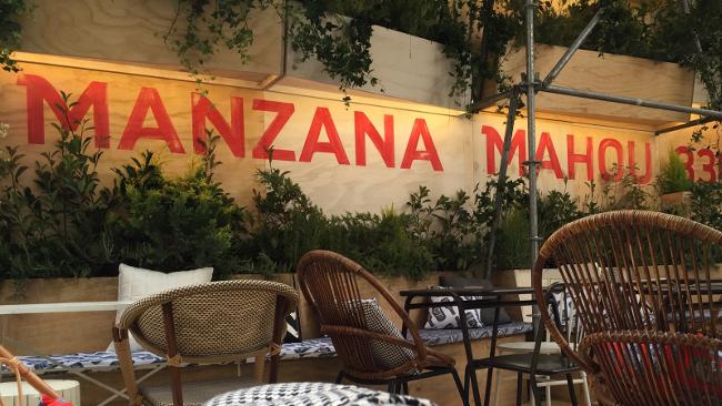 Manzana Mahou es una de las terrazas del verano (otra vez).