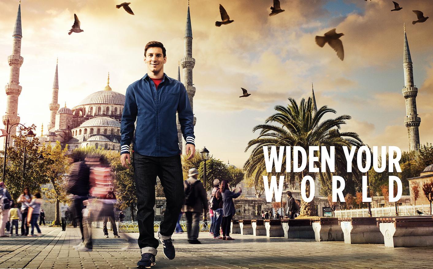 "Lema de Turkish Airlines: ""Widen your world"""