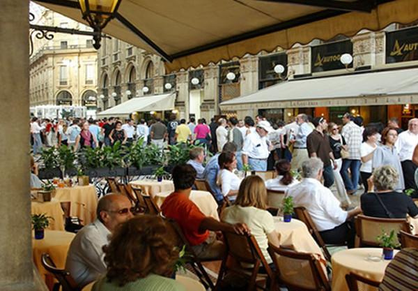 Zucca in Galleria, uno de los sitios favoritos de Verdi.