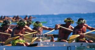 Carreras de canoa.