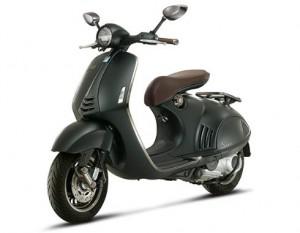 Modernidad y aire Vintage, característico de Vespa, se dan la mano en este diseño.