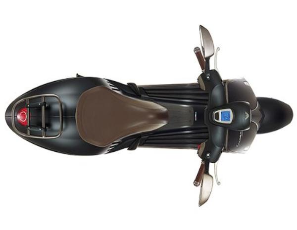 Tecnología, movilidad y seguridad. (Imagen de la web de Vespa).