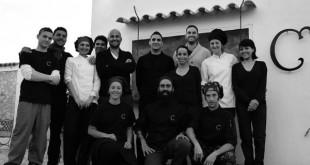 El equipo de Can Dani, primera estrella Michelin de Formentera.