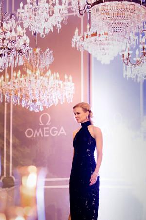Kidman, durante un momento de la cena de gala organizada por Omega.