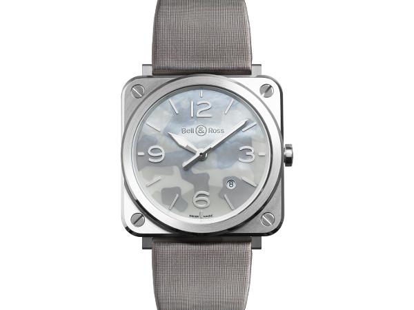 BR S Grey Camouflage  BRS-CAMO-ST: La elegancia más refinada.