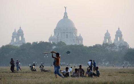 estudiantes jugando al cricket