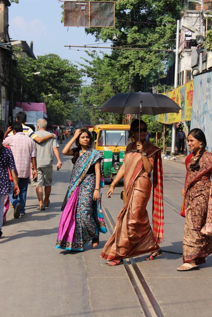 Saris de las bengalíes