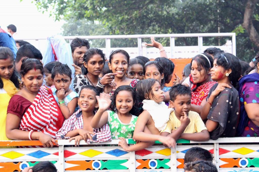 Niños de Calcuta