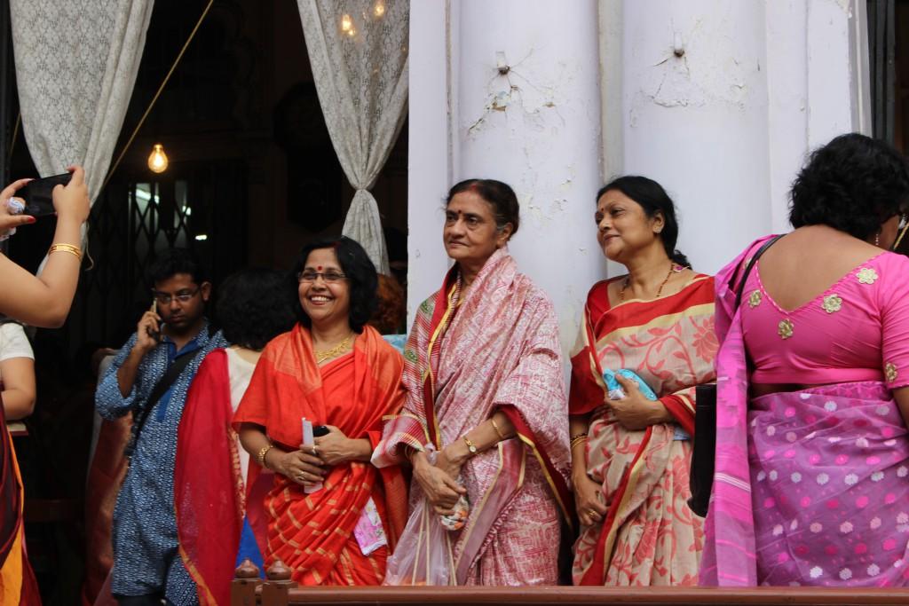 Elegancia Mujeres de Calcuta
