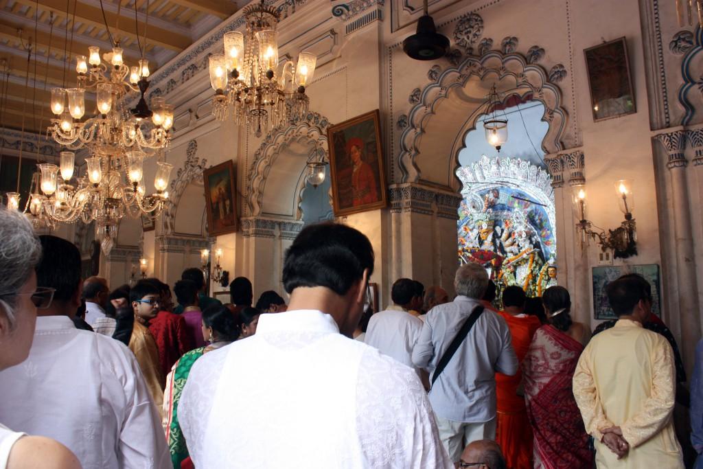 Pujas más antiguos, Puja en palacio de Sovabazar Rajbati