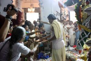 Ritos Durga Puja en Sovabazar Rajbati