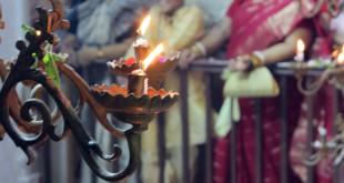 Ritos religiosas Durga Puja