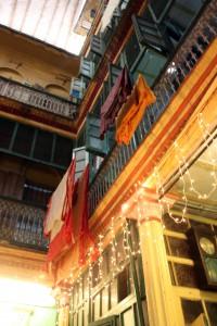 Patio casa antigua de Calcuta