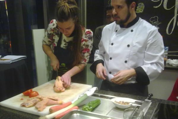 Clases de cocina en Bilbao para relajarse. ¡Gran plan!