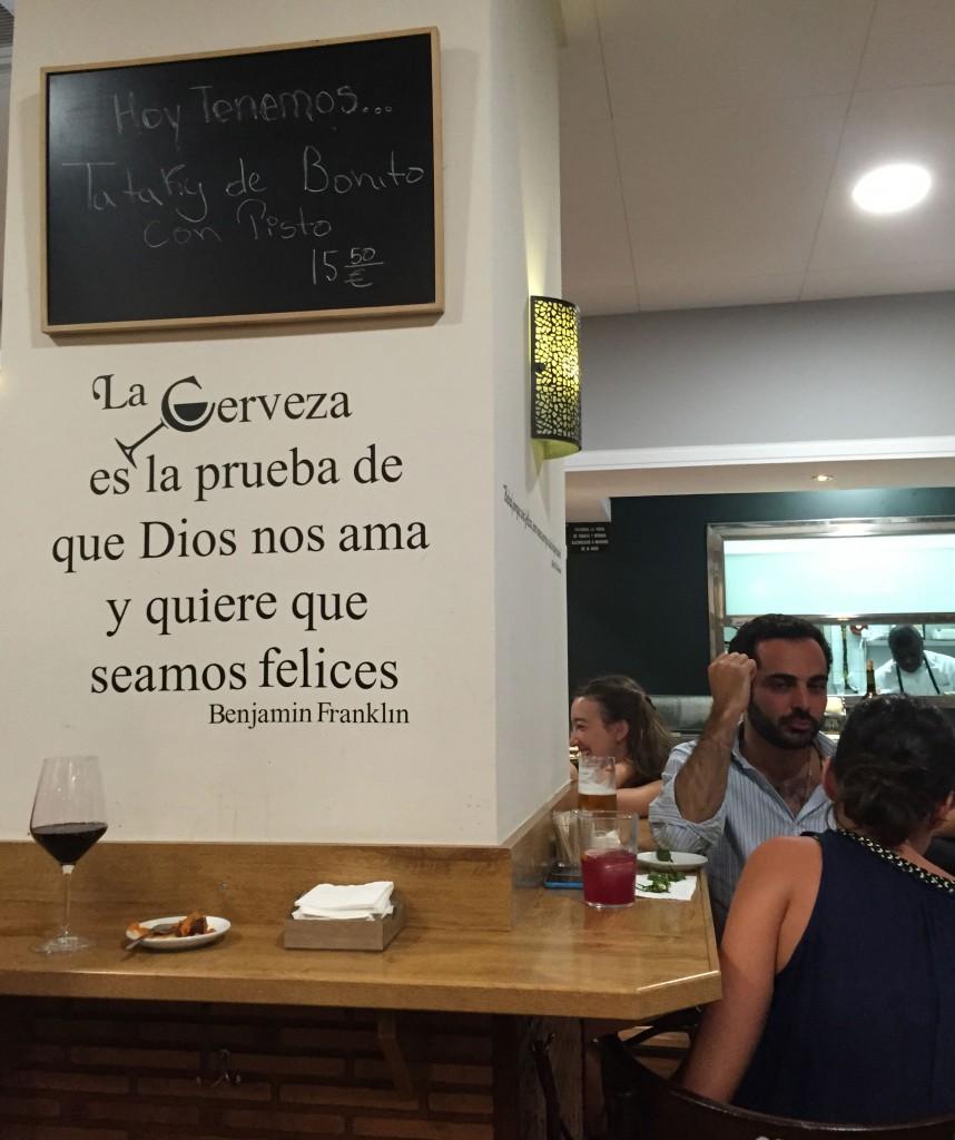 La Catapa zona metro de Ibiza Madrid